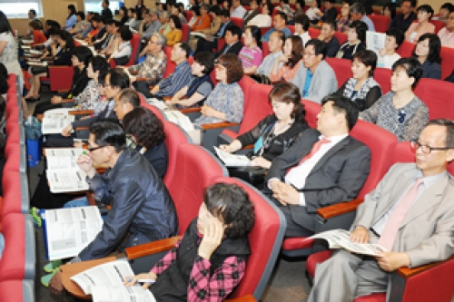 KOREATECH held a meeting with its student's parents.