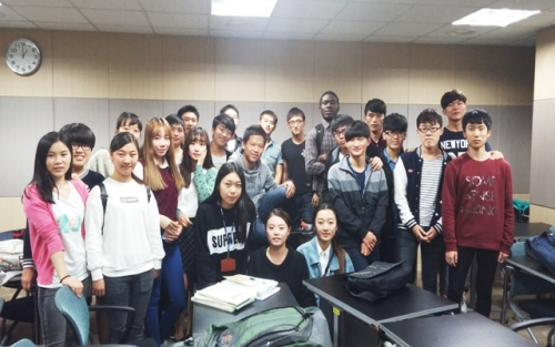 Starting Korean course of autumnal semester 2014