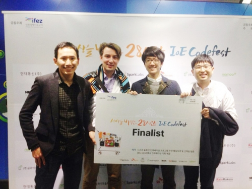 Team ICU Wins Cisco Korea Codefest