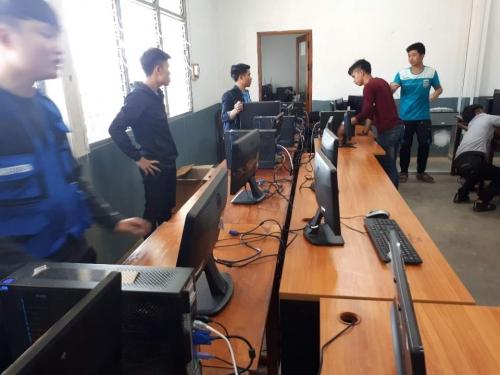 코리아텍 학생들 라오스 창의과학 교육, 네트워크 봉사 큰 호응
