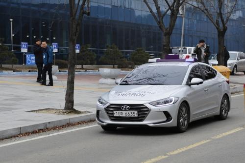 [충남일보]코리아텍, 4차 산업혁명 핵심기술 워크숍 '무인차 시연'