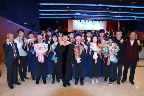 코리아텍 '1회 일학습병행대학' 졸업식