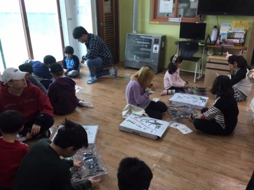 코리아텍 천안아동센터 찾아 '창의과학 교실'