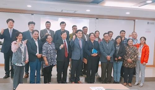 코리아텍 능력개발교육원 네팔 기술교육연수원과 MOU
