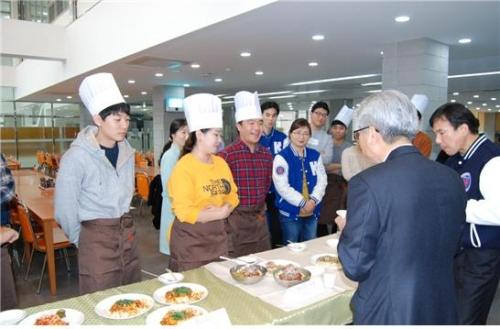 코리아텍 학생 참여 '2019 상반기 요리경연대회'