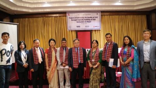 코리아텍 '네팔 기술교사 역량강화' 워크숍