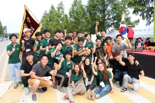 코리아텍 자연인팀 '국제대학생 자작차 대회' 종합우승