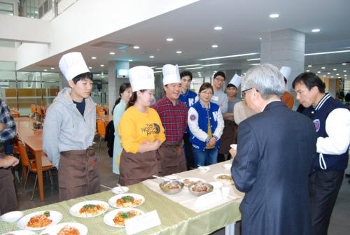 코리아텍 '학생 요리경연대회' 개최