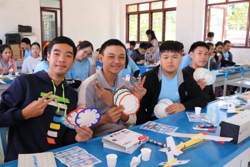 코리아텍 학생들 라오스 창의과학 교육, 네트워크 봉사