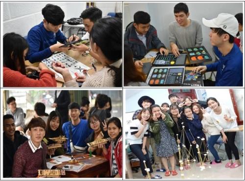 베트남 학생 대상 기술교육봉사