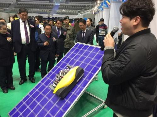 가제트팀 '태양광 유지보수로봇' 지능로봇경진대회 최우수상