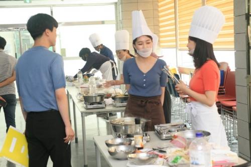 코리아텍 학생 참여 '2019 하반기 요리경연대회'