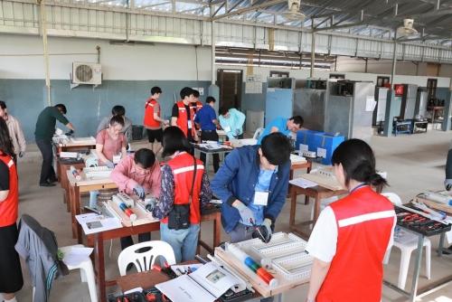 코리아텍 라오스서 '직업훈련교육' 큰 호응