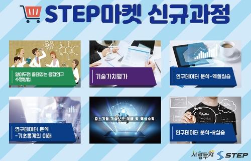 직업훈련 콘텐츠 유통창구 STEP 마켓, 신규 콘텐츠 탑재